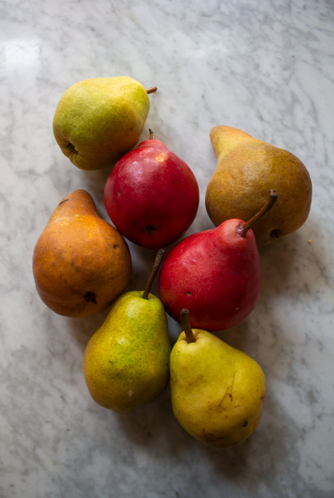 baked pears fall food seasonal eating